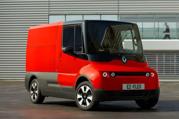 Renault utilitaire EZ Flex