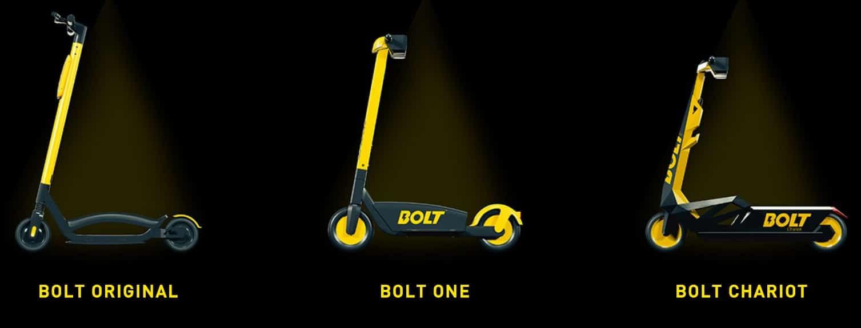 Trottinettes électriques B Mobility