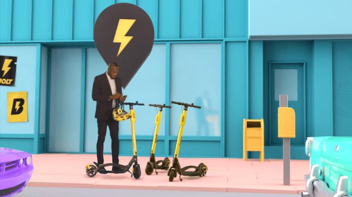 Bolt trottinettes électriques