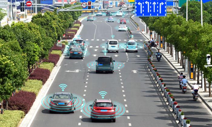 La 5G et la voiture autonome