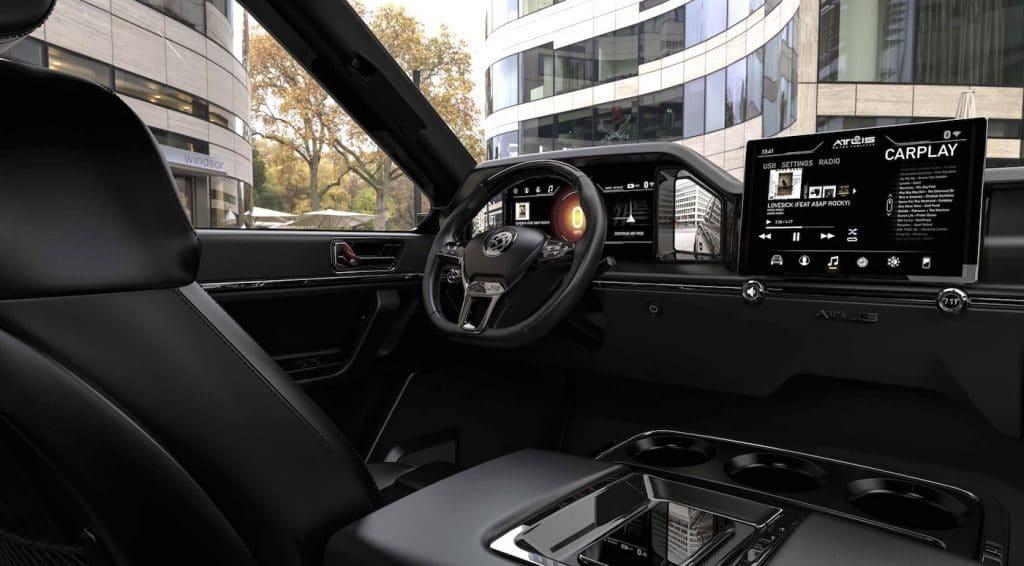 atlis XT-interior