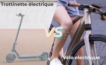 Trottinette électrique vs VAE
