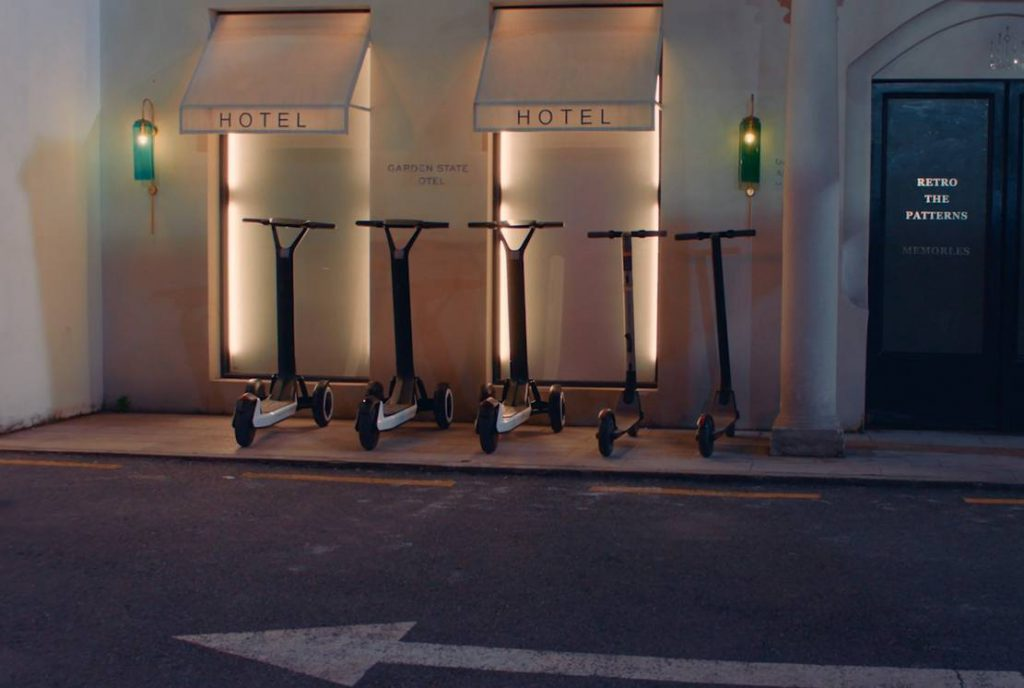 Trottinette autonome Kiskscooter Segway