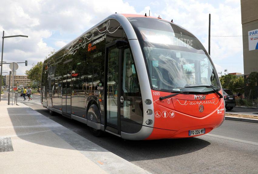 bus electrique aix en provence