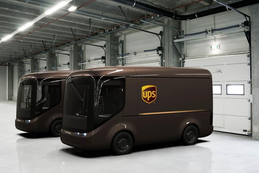 Camions électriques UPS